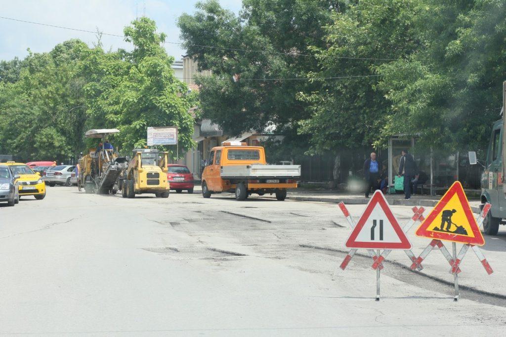 Община Сливен започва ремонт на уличната мрежа в града