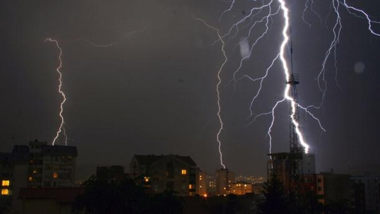 Община Сливен предупреждава гражданите да се съобразят с метеорологичната прогноза за 4 юли