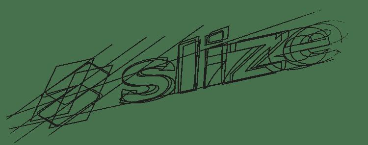 originele logo ontwerpen, deel 1 - Schetsfase Slize logo