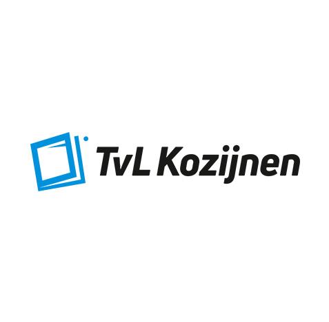 Logo creatie TVL Kozijnen - Logo ontwerp door Slize Oldenzaal