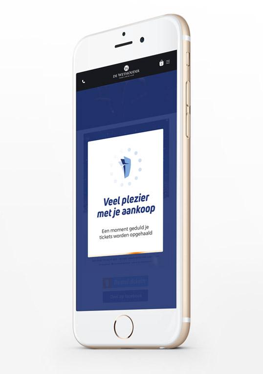 Mobiel / mobile design Slize Oldenzaal