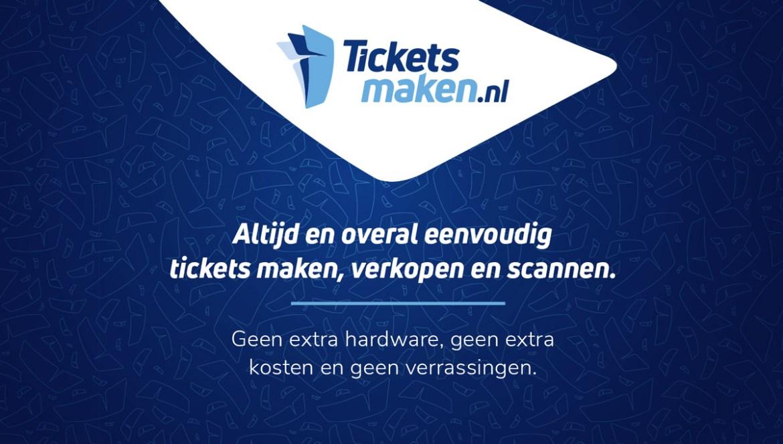 Altijd en overal eenvoudig tickets maken, verkopen en scannen.