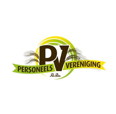 Logo creatie personeelsvereniging Pré Pain Oldenzaal - Logo ontwerp door Slize