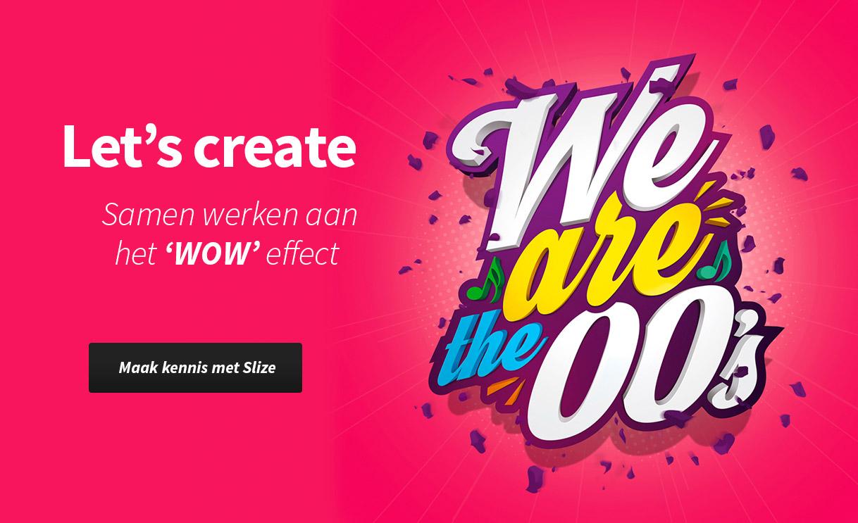 Slize in Oldenzaal, het bureau voor logo ontwerpen en designs. Samen werken aan het WOW effect.