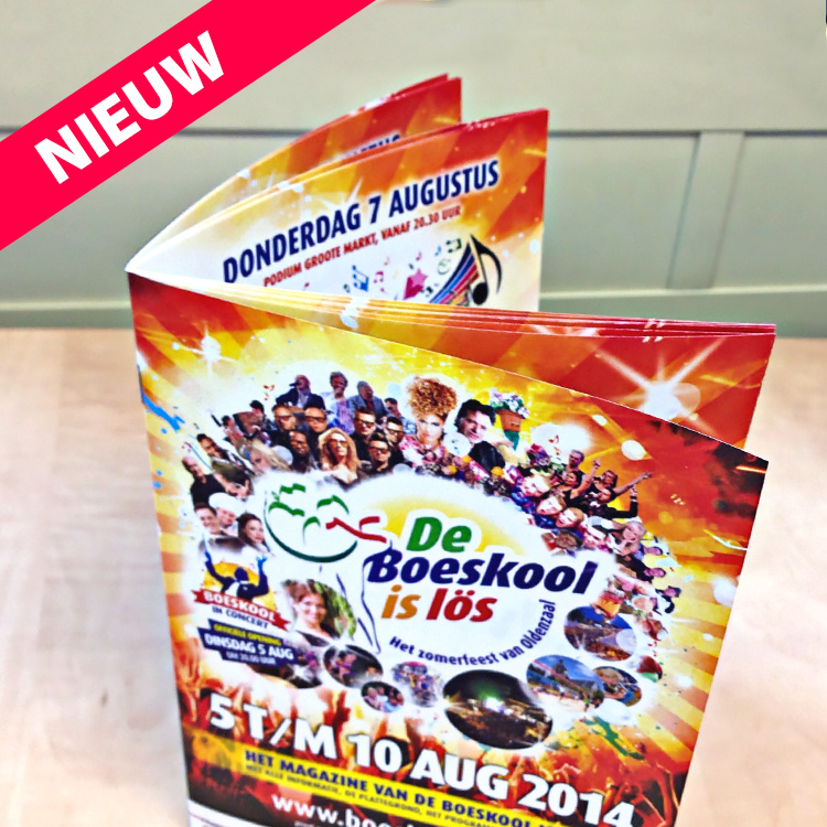Boeskool magazine 2014 - Boeskool is Los Oldenzaal, archief