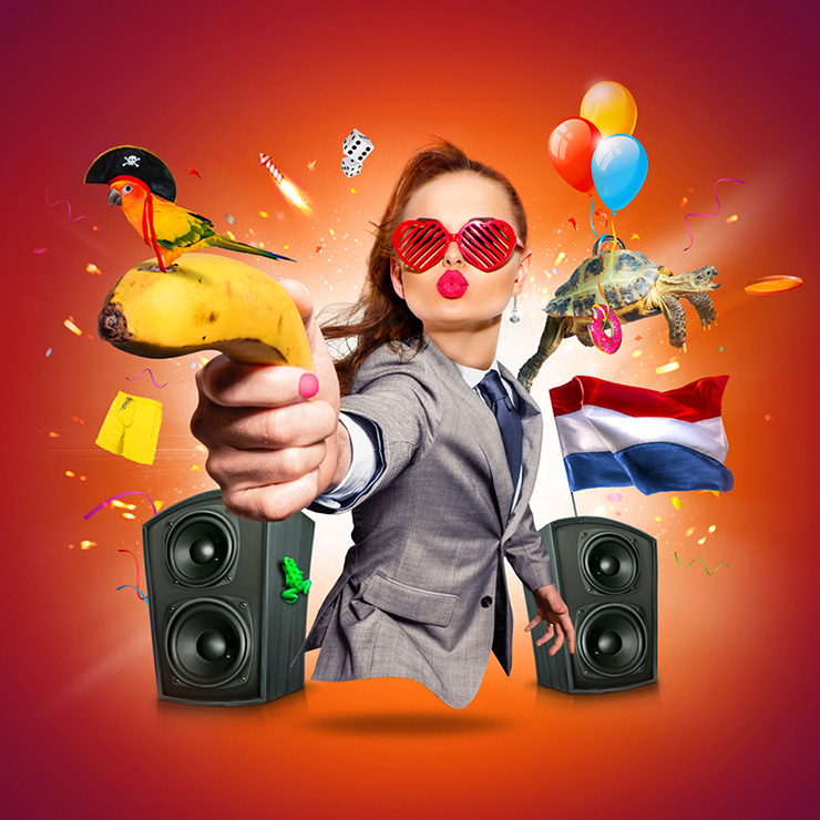 Artwork & design foute party / creatief grafisch ontwerp Slize Oldenzaal / Twente