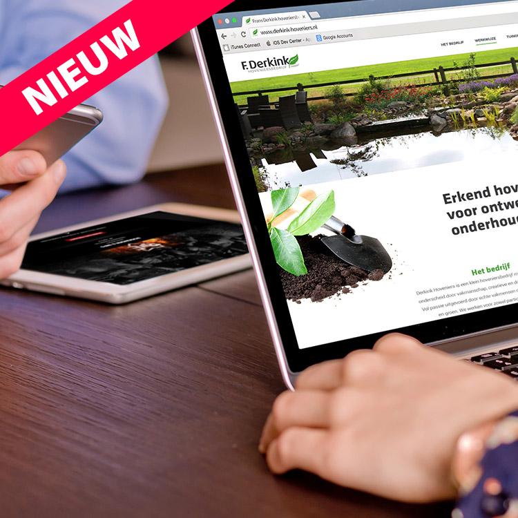 Website design - Responsive design voor tabletm ipad, desktop, computer, mobiel | Website laten maken Oldenzaal, Enschede, Hengelo, Denekamp, Losser en Almelo