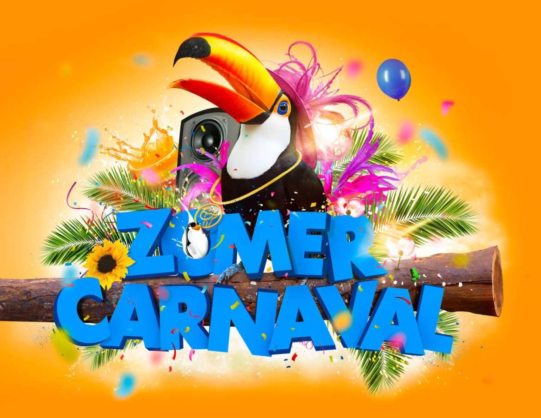 Grafisch ontwerp zomercarnaval Boeskool is Los