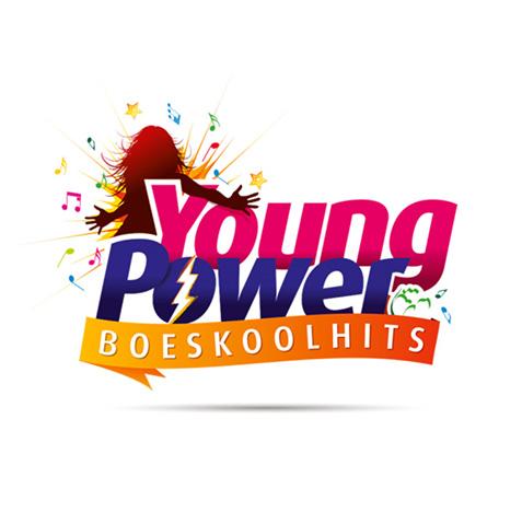 Boeskool is Lös, Oldenzaal - huisstijl logo ontwerp - jeugd muziek avond