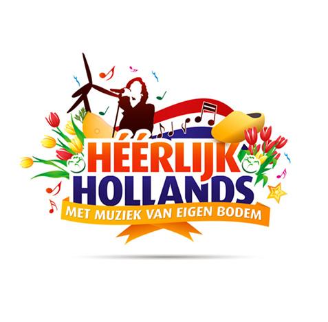 Nederlandse avond, huisstijl logo ontwerp