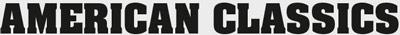 Logo ontwikkeling - American classics font keuze
