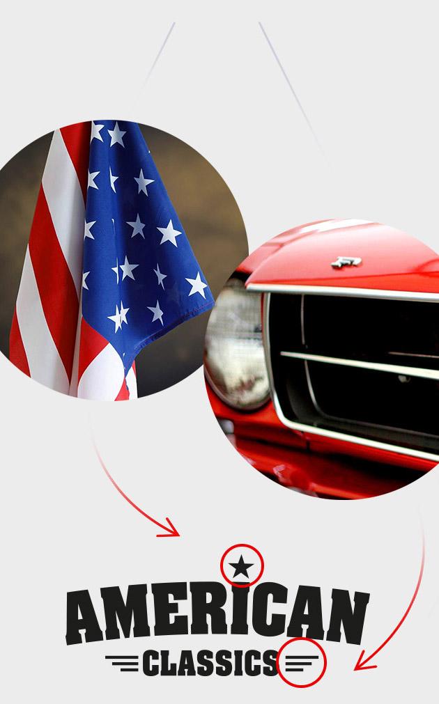 American car classics inspiratie - Logo ontwikkeling stap 4