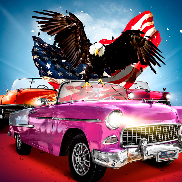 American Classics event - final artwork creatie