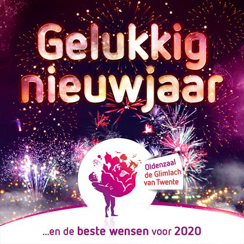 Gelukkig nieuwjaar SOBO | Centrum Oldenzaal social media visual