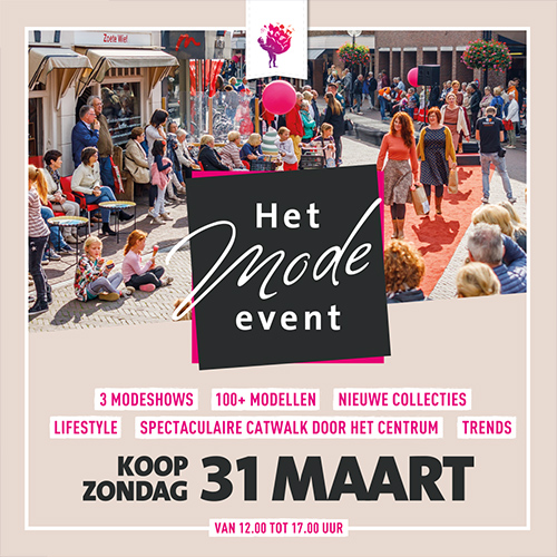 SOBO centrum oldenzaal - het mode event - social media uiting