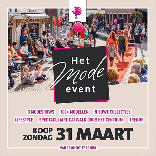 SOBO centrum oldenzaal - het mode event - social media uiting
