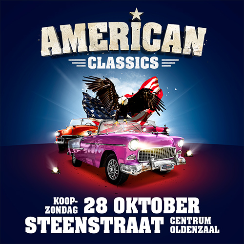 american classics event oldenzaal - design social media