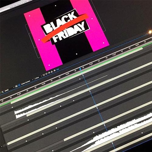 Still after effectes, animatie maken voor Black Friday - Centrum Oldenzaal social
