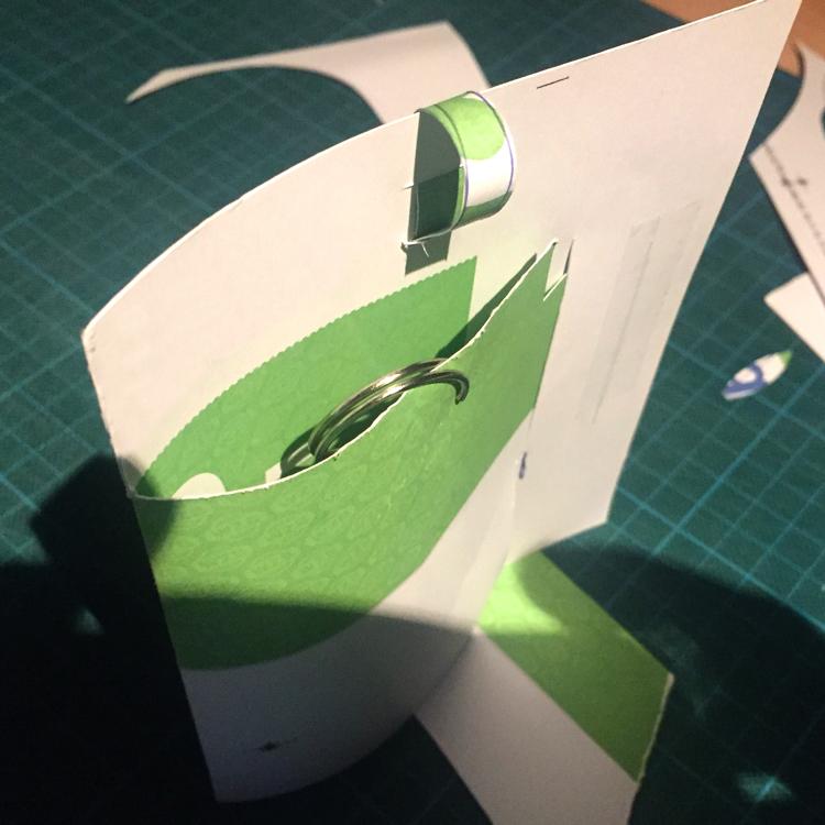 Creatief grafisch ontwerpen, knutselen met papier