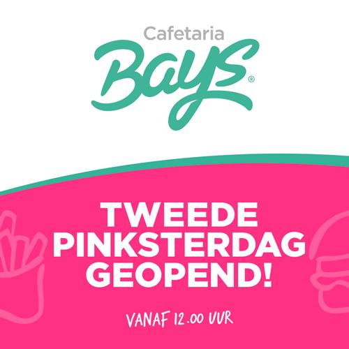 Tweede pinksterdag geopend Cafetaria Bays Reutum - Content creatie door Slize Oldenzaal