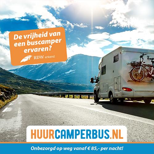 Porfolio social media vormgeving Deurningen   huur camper bus (buscamper)
