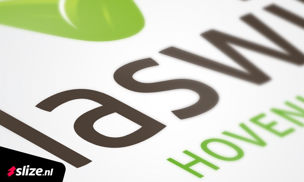 Logo ontwerp hovenier vlaswijk borne