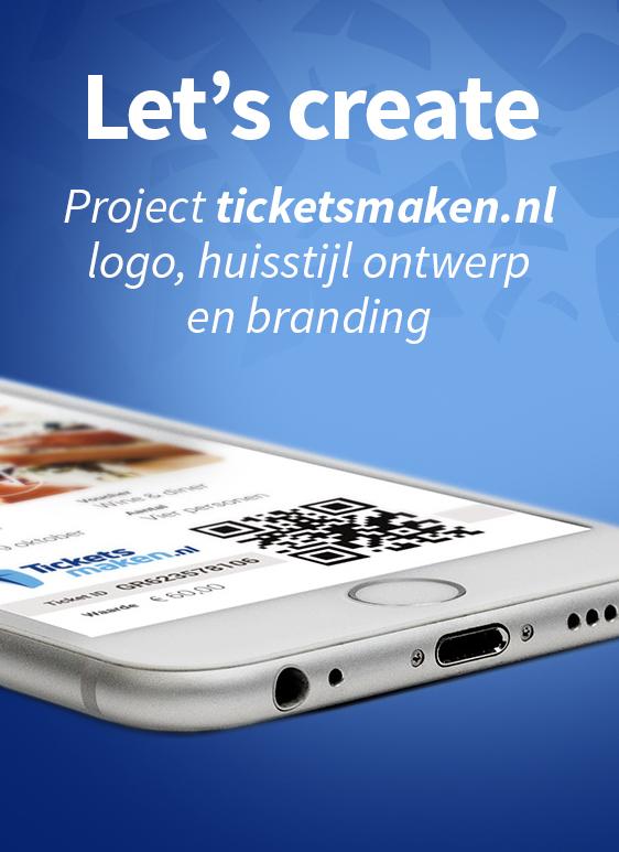 Nieuw logo en huisstijl ontwerp ticketsmaken.nl