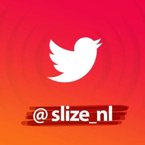 Twitter logo x Slize Oldenzaal - Tweet tweet @slize_nl