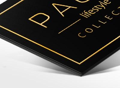 Luxe en exclusief drukwerk met goud   Slize x Pauw Lifestyle Oldenzaal