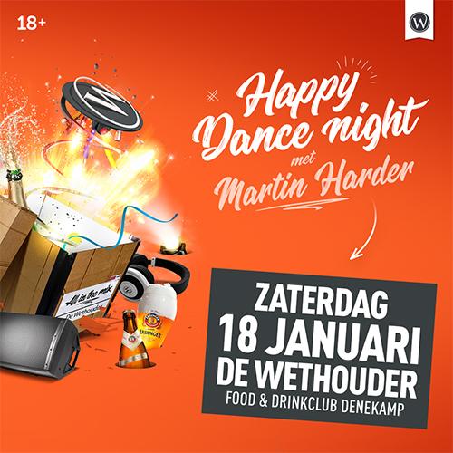Porfolio social media vormgeving Denekamp | DJ Martin harder evenement