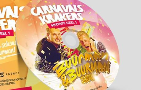 Carnaval CD cover ontwerpen