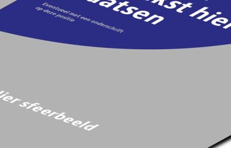 DTPer Oldenzaal / Enschede - Opmaak en vormgeving van een brochure.