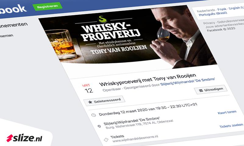 Facebook event aanmaken