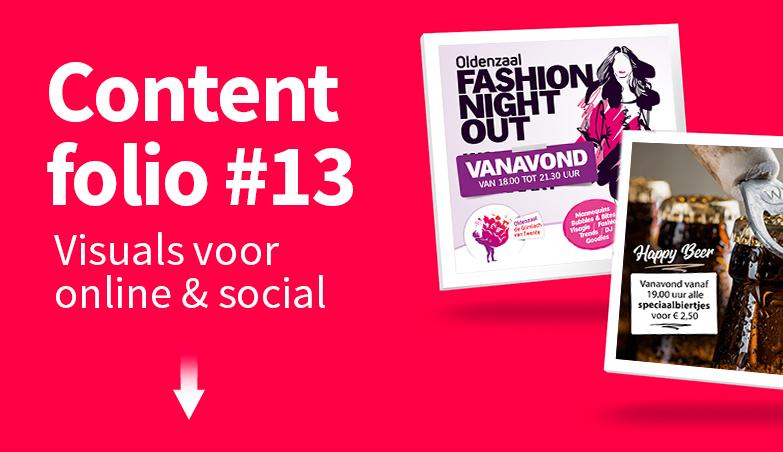Content folio #13 - visuals voor online & social