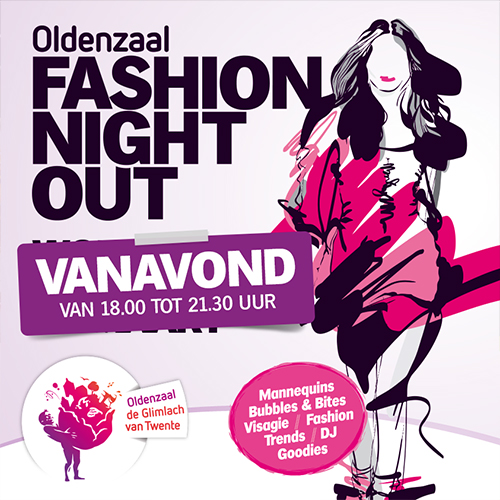 Oldenzaal Fashion Night Out - Facebook post