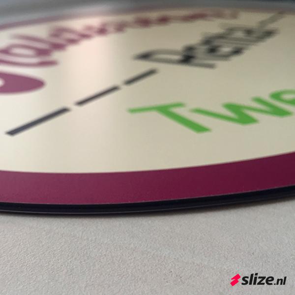 Magneet bord drukken met logo Enschede Oldenzaal