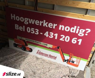 Trespa platen bedrukken | Drukwerk Enschede x Slize Oldenzaal