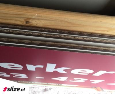 reclameborden drukken op trespa - Print, sign & drukwerk van Slize Oldenzaal