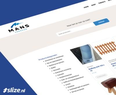 Evenementen verhuur website en webshop - Slize Oldenzaal