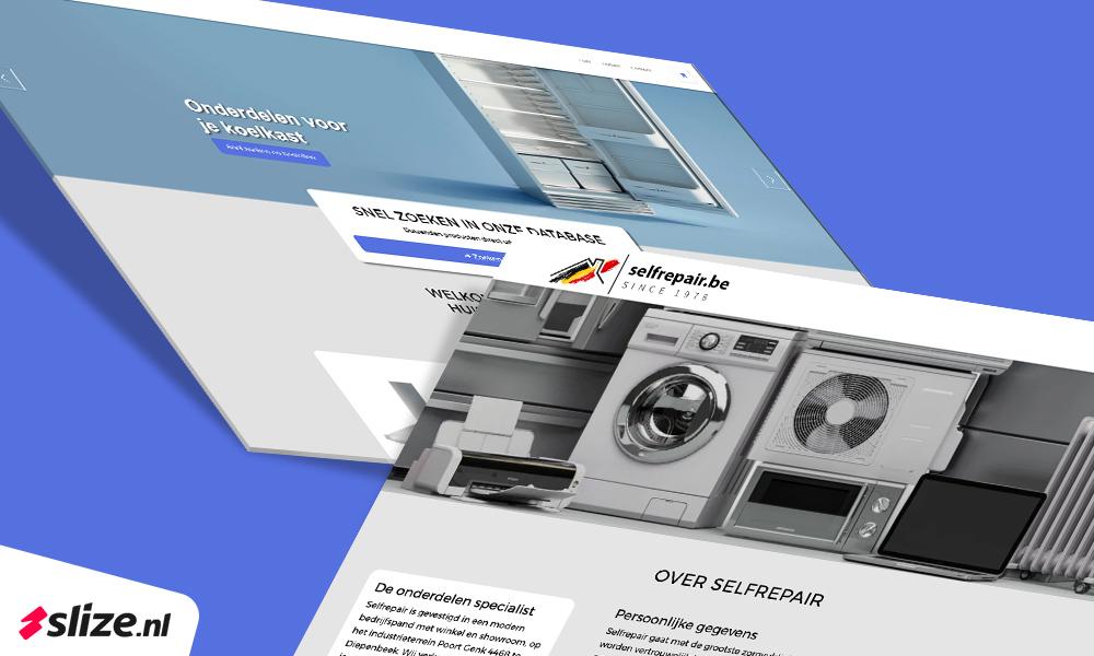 Selfrepair nieuwe webshop stills