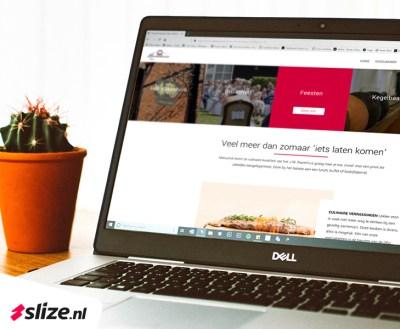 Webdesign van een WordPress website - Slize Oldenzaal