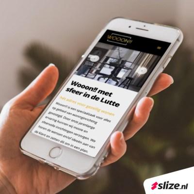 Responsive webdesign van Slize Oldenzaal