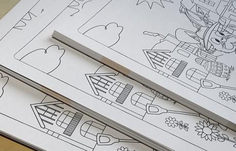 Kleurplaten drukken op stevig papier   Printen en drukken Oldenzaal