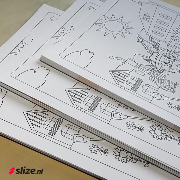 Kleurplaten drukken op stevig papier | Printen en drukken Oldenzaal