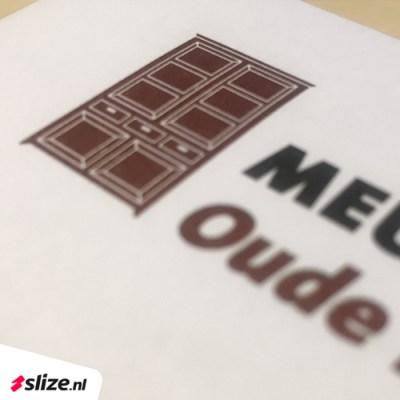 Bedrukt logo op een envelop, zakelijke enveloppen drukken in Twente (Overijssel)