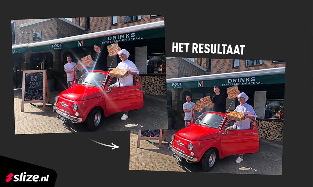 Lichtvlek op foto verwijderen - Beeldbewerking in Photoshop