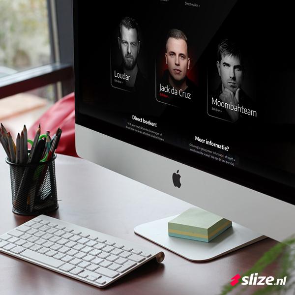 Minimalistische zwarte website maken - Webdesign Oldenzaal
