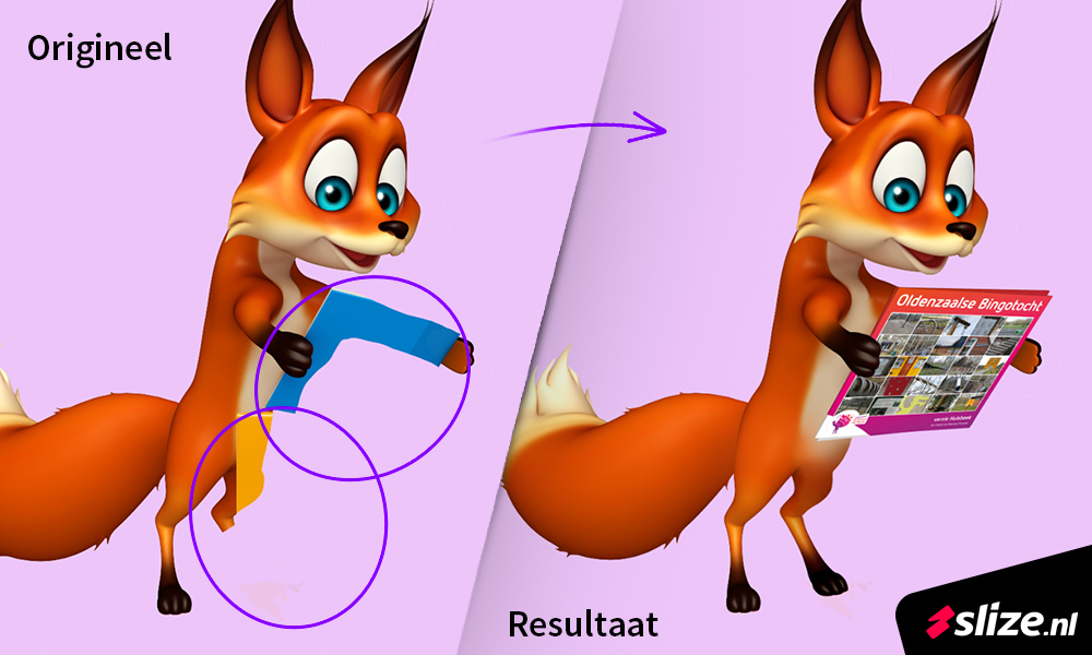 photo editing - result before after