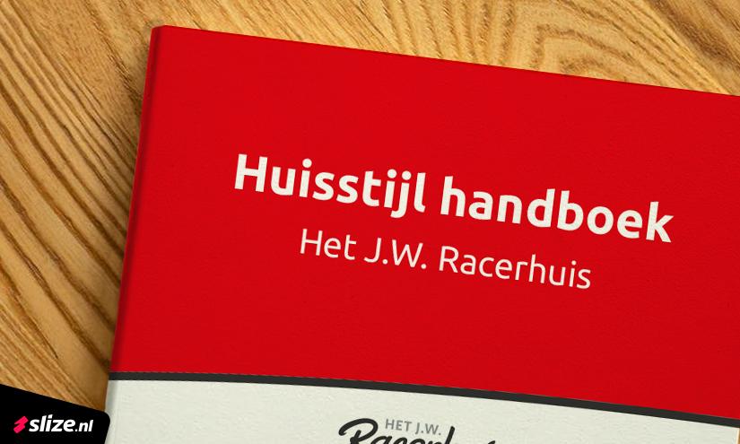 Nieuwe huisstijl ontwerpen - Huisstijl handboek het JW Racerhuis in Oldenzaal