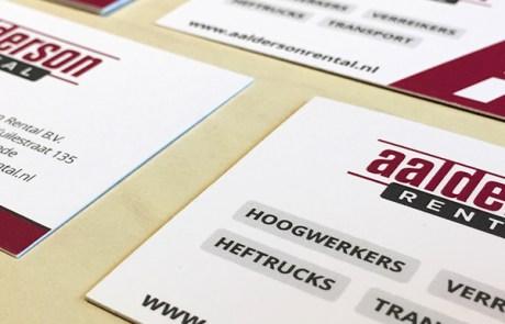 Premium visitekaartjes drukken met laminaat in kleine oplage - Drukwerk Enschede (Twente)
